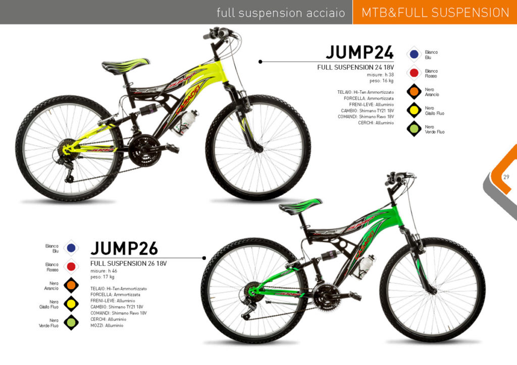 MTB & Full Suspension Casadei 2017/18 - Full Suspension acciaio