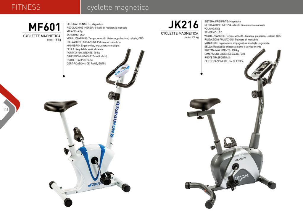 FITNESS Casadei 2017/18 - Cyclette magnetica